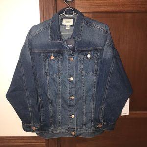 Oversized Denim Jacket!